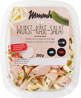 Mmmh Wurst-Käse-Salat