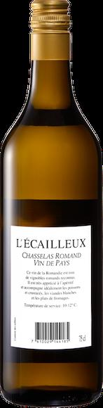 L'Ecailleux Chasselas Romand Vin de pays Zurück