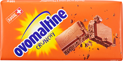 Wander Ovomaltine Crunchy Tafelschokolade