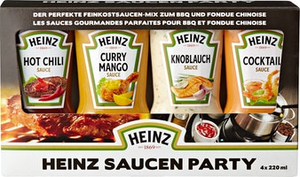 Sauces Party Heinz