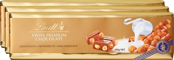 Tablette Or Lait-Noisettes Lindt