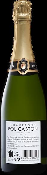 Pol Caston brut Champagne AOC Indietro