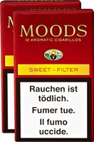 Dannemann Moods Sweet Filter Cigarillos