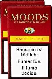 Dannemann Moods Sweet Filter Cigarillos