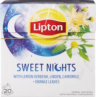 Thé Sweet Nights Lipton