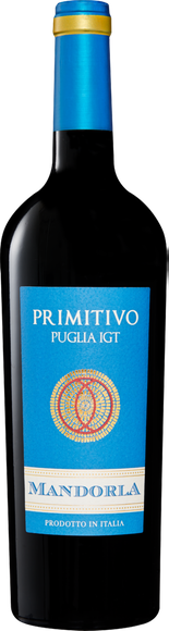 Mandorla Primitivo di Puglia IGT Vorderseite