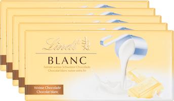 Tablette de chocolat Blanc Lindt
