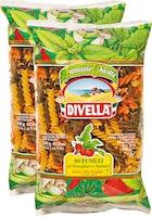 Fusilli tricolores Divella