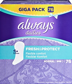 Protège-slips Fresh & Protect Always