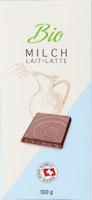 Tablette de chocolat Lait bio Denner