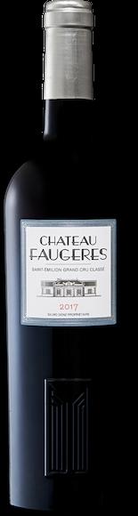 Château Faugères Grand Cru Classé Saint-Emilion AOC Vorderseite