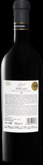 Barbanera Gigino 80° Anniversario Rosso Toscana IGT Zurück