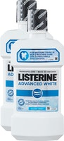 Bain de bouche Advanced White Listerine
