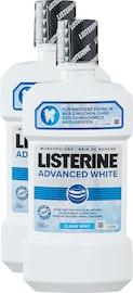 Bain de bouche Advanced White Listerine