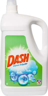 Detersivo liquido Freschezza alpina Dash