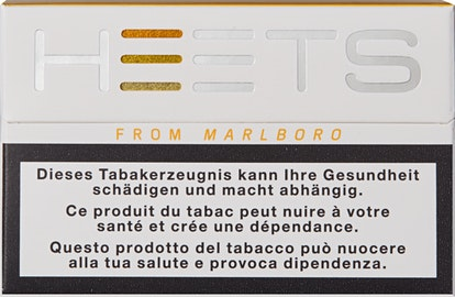 Marlboro Heets Yellow Label