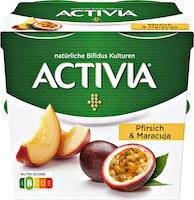 Danone Activia Joghurt Pfirsich & Maracuja