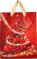Weihnachts-Geschenktasche midi