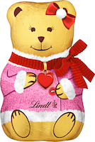 Ours d'or Teddy Girl Lindt