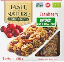 Taste of Nature Cranberry Bio