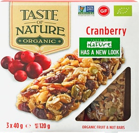 Taste of Nature Cranberry Bio