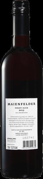 Maienfelder Pinot Noir AOC Graubünden  Zurück