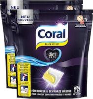 Coral Waschmittel Caps Black Velvet
