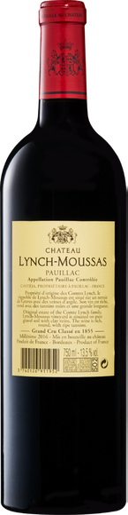 Château Lynch-Moussas  Zurück