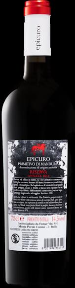 Epicuro Primitivo di Manduria DOP Riserva Zurück