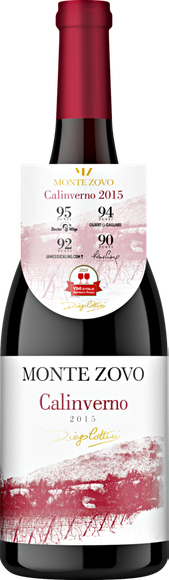 Montezovo Ca'Linverno Rosso Veronese IGT Vorderseite