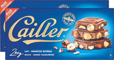 Tablette de chocolat au lait Cailler