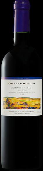 Ombres Bleues Grenache/Merlot Pays d'Oc IGP Vorderseite