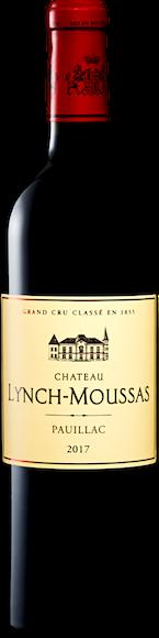 Château Lynch-Moussas 5e Grand Cru Classé Paulliac AOC Vorderseite