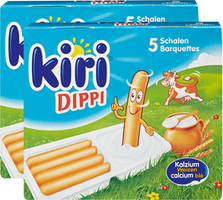 Kiri Dippi mit Grissini