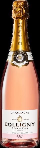 Colligny Rosé brut Champagne AOC Vorderseite