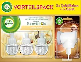 Diffusore elettrico per ambienti Vaniglia & Orchidea Air Wick