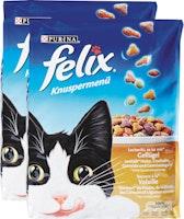 Menu croccante per gatti Felix