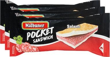 Pocket Sandwich al salame Malbuner
