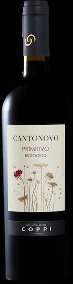 Cantonovo Primitivo bio Puglia IGP De face