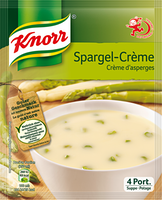Knorr Suppe Spargelcrème