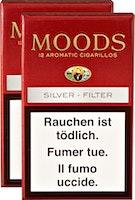 Dannemann Moods Silver Filter Cigarillos