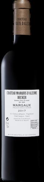 Château Marquis d'Alesme 3e Grand Cru Classé Margaux AOC Zurück