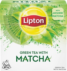 Thé Green Tea with Matcha Lipton