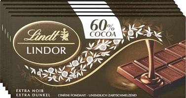 Tablette de chocolat Lindor Extra Noir Lindt
