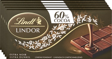 Tavoletta di cioccolata Lindor Extra Fondente Lindt
