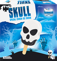 Gelato Skull Cristallo