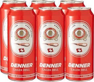 Bière lager blonde Denner