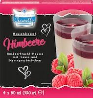 Mousse Dessert framboise Cristallo<br />