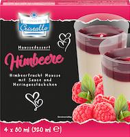 Cristallo Mousse Dessert Himbeer