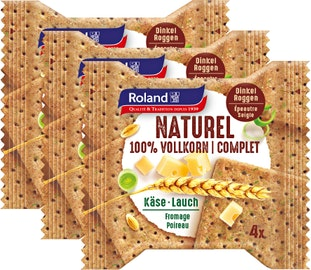 Crackers complets Naturel Roland